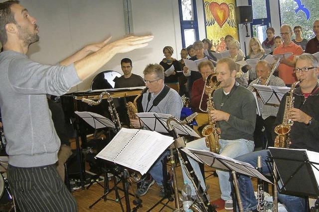 Die Messe wird in Jazz übersetzt