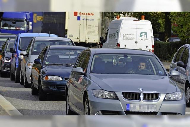 2030 nur zehn Prozent mehr Verkehr