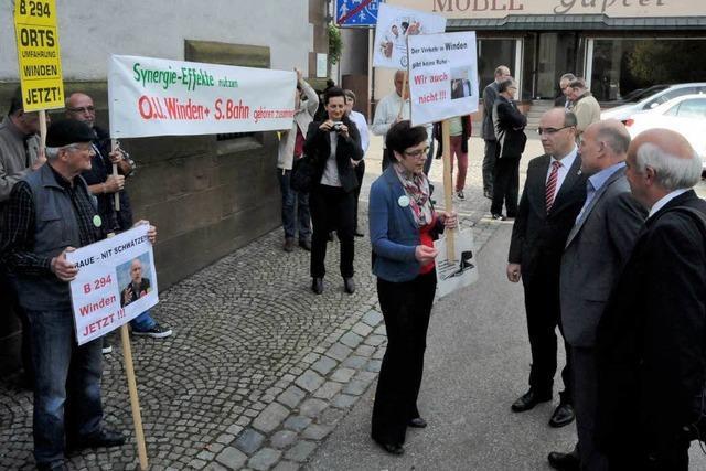 Verkehrsminister Hermann wirbt um Verständnis