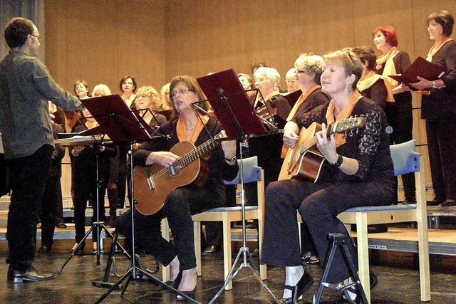 Chorkonzert mit Frauenüberschuss