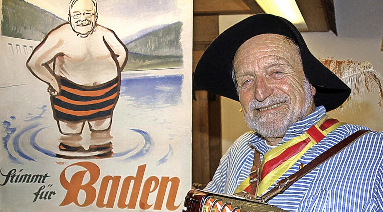 Wolfgang Mießmer im Gasthuus Traube in Waldau.   | Foto: Marion Pfordt