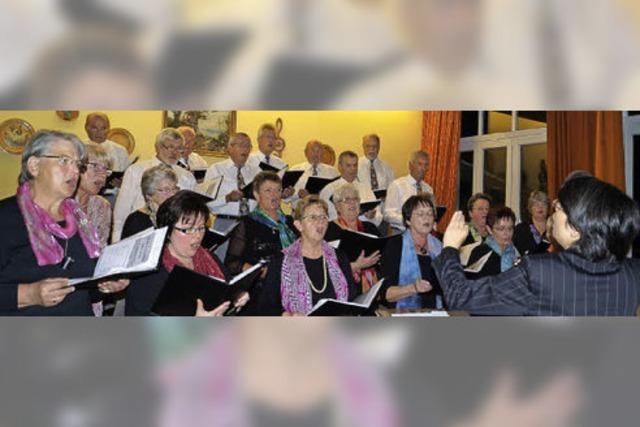 Ein heiterer Konzertabend mit Liedern rund um den Trinkgenuss