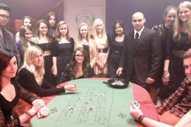 Schick zur Casino-Party
