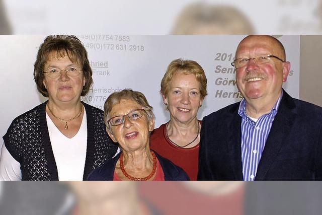 Kontinuierlich Programm für Senioren