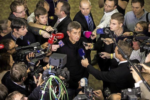 Tschechien: Protestpartei ANO liegt vorne