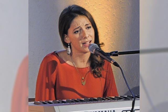 Céline Huber musikalisch gereift