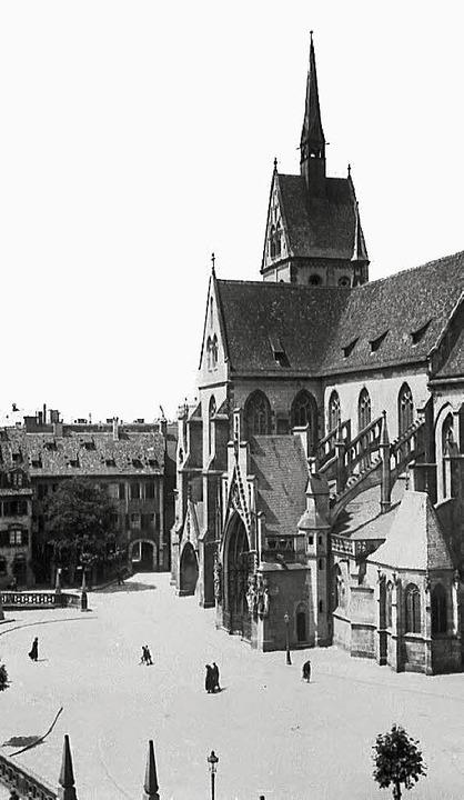Die historische Aufnahme aus dem 19. Jahrhundert zeigt Jung Sankt Peter.     Foto: Architekturtage