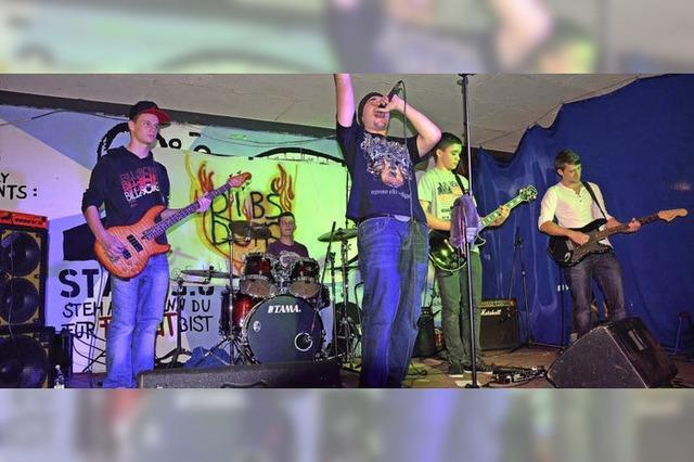 Bands schöpfen aus einem breiten Repertoire