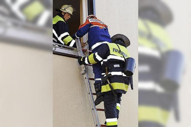 Kellerbrand beim Feuerwehr- Kommandanten