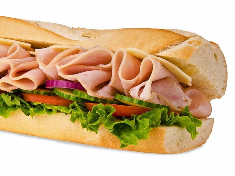 So ähnlich sehen sie aus, die Sandwiches bei Subway.  | Foto: michelaubryphoto / Fotolia.com
