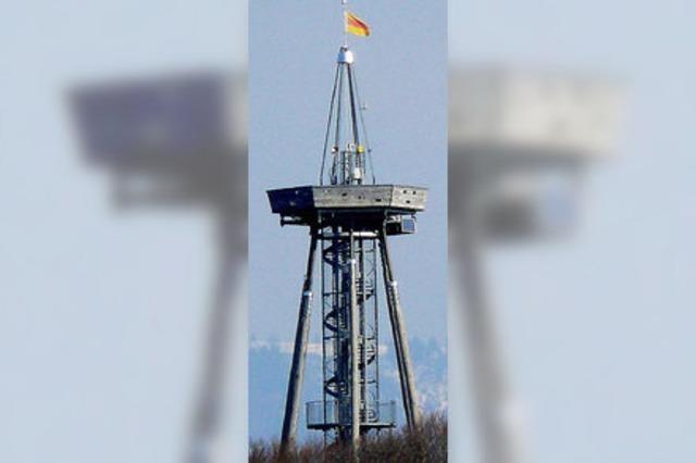 19.000 Besucher auf dem Eichbergturm - in nur einem Jahr