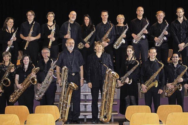 Saxofon-Orchester