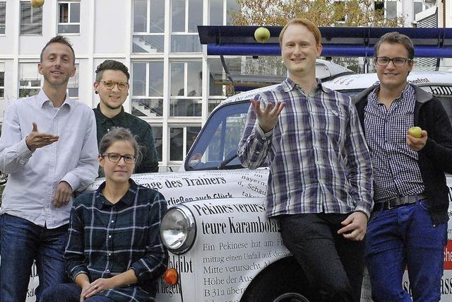 Die neuen BZ-Volontäre: Ein regional verwurzeltes Quintett
