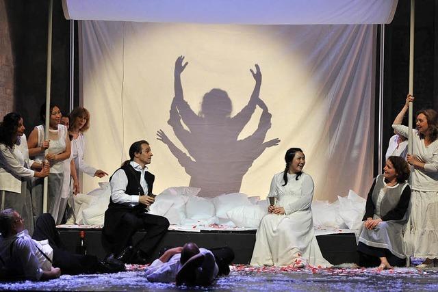 """Richard Wagners Oper """"Lohengrin"""" in Basel"""