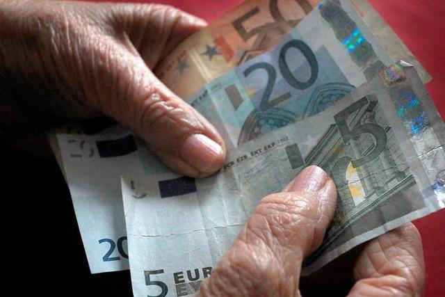 Polster in der Rentenkasse: Sinkt der Beitragssatz?
