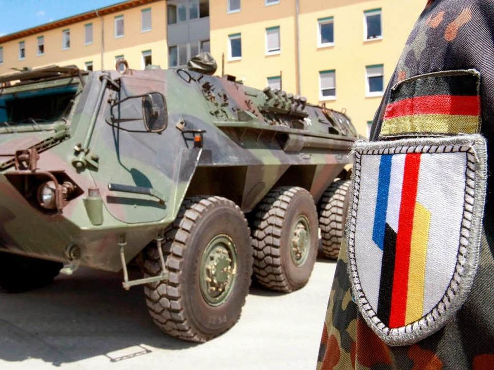 Die deutsch-französische Brigade zieht... zurück – was wird aus Müllheim?  | Foto: dpa