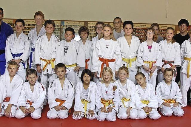 Judoclub fördert junge Talente