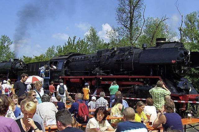 Ein Zuhause für die Lokomotiven