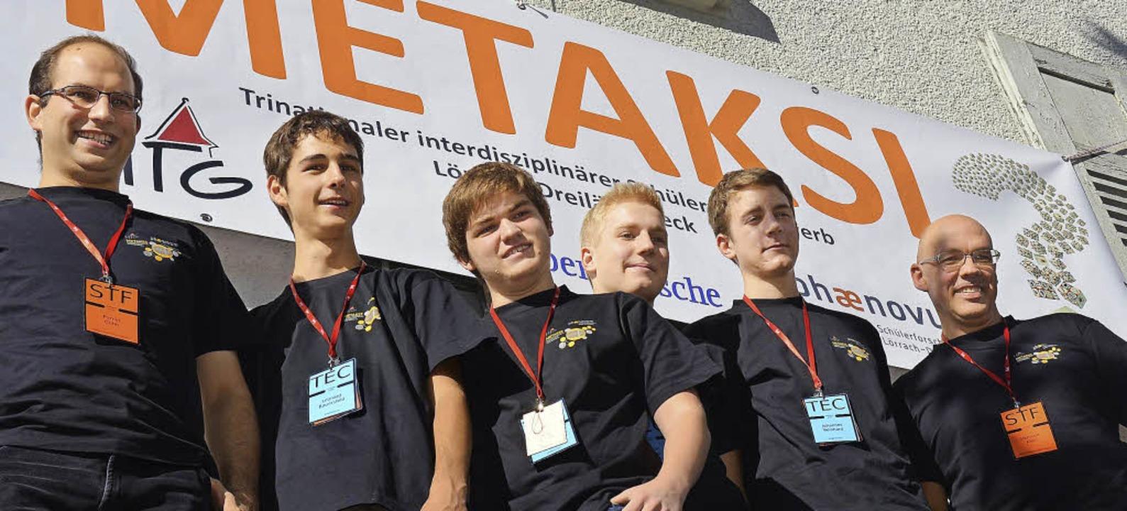 Metaksi-Planer: (von links) Primin Goh...art Roth) und Initiator Hermann Klein   | Foto: Nikolaus Trenz