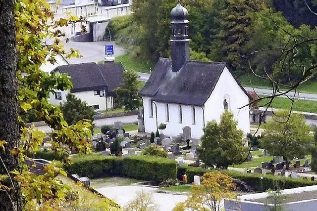 Seit 1963 ist die Friedhofskapelle katholisch – wieder
