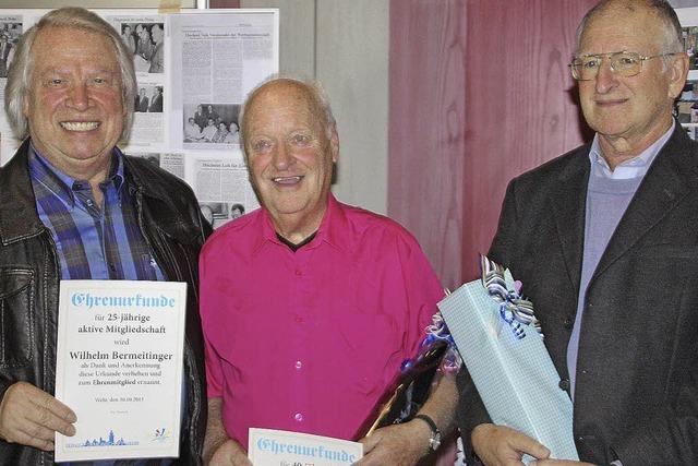 Drei Ehrenmitglieder zum Geburtstag