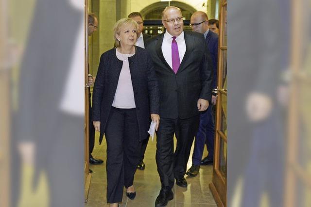Union und SPD streben eine zügige Reform an