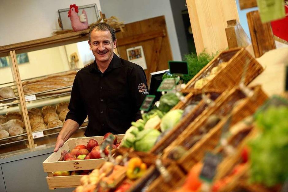 Ulrich Müller ist Landwirt und Betreiber der Marktscheune. (Foto: Christoph Breithaupt)