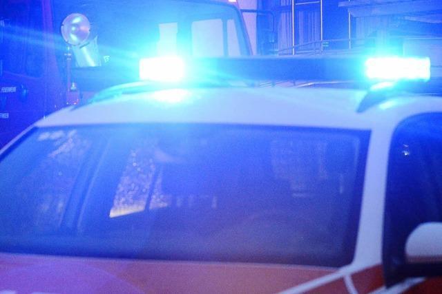 Falschmeldung hält Polizei, Rettungskräfte und Feuerwehr in Atem