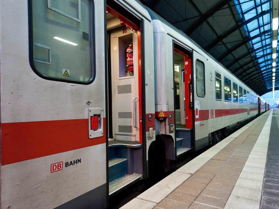 Macht künftig in Lahr Halt: der IC nach München.  | Foto: dapd