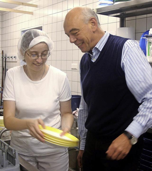 Saubere Sache: Karolin Strütt freut si...ertvolles Mitglied hinzugewonnen hat.   | Foto: Heiner Fabry