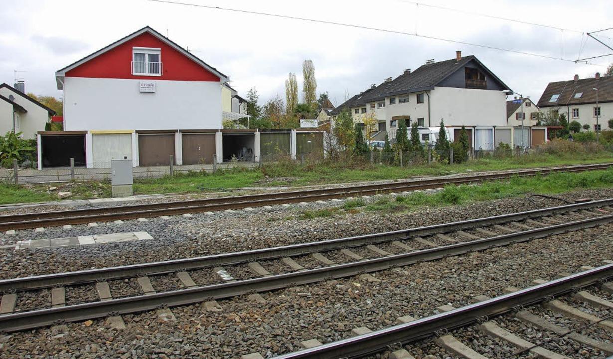 Wegen der räumlichen Enge kann die Ver...er Egringer Straße realisiert werden.   | Foto: Herbert Frey