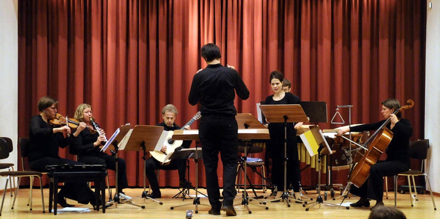 Das Janus-Ensemble mutet  den Zuhörern einiges zu.  | Foto: Wolfgang Künstle