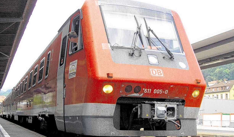 Häufige Verspätungen auf der Hochrhein..., beklagen Kunden der Deutschen Bahn.   | Foto: Gerard