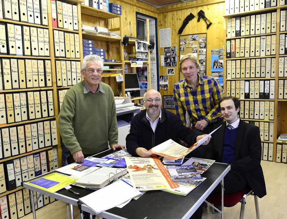Nicht nur hier aktiv: Max Heinke, Jürg...oph Neeb, Stephan Möhrle (von  links).  | Foto: Schneider