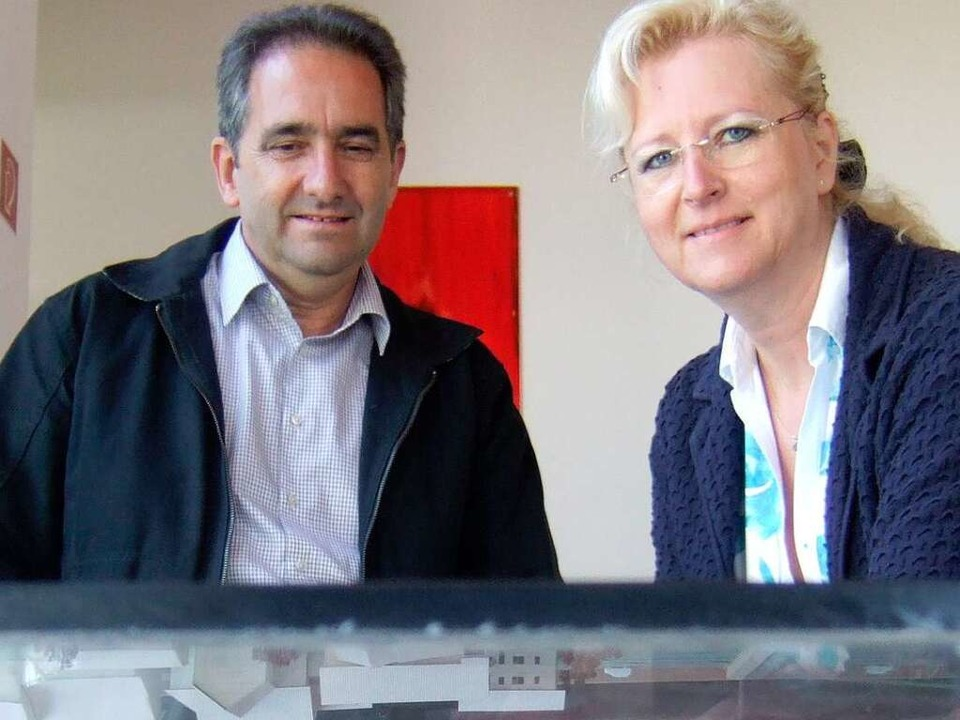 Bruno und Petra Bohrer  | Foto: Susanne Müller