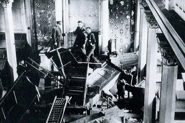 Gedenken an Pogromnacht
