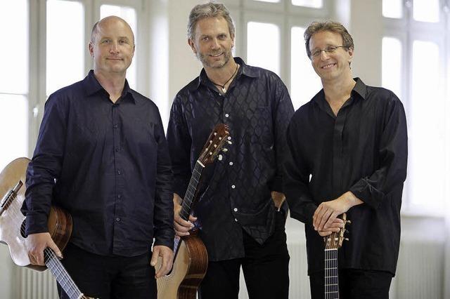 Das Gitarren-Trio