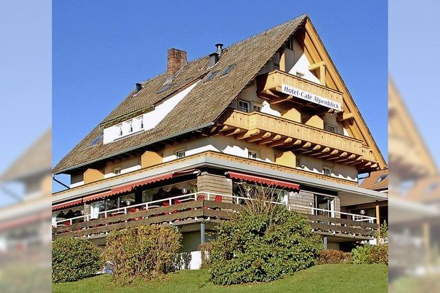 Hotel-Café Alpenblick wird verkauft