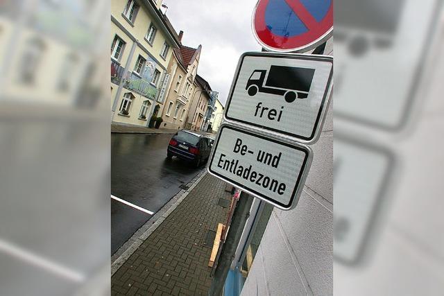 Obacht! Neue Regelungen in der Friedrichstraße