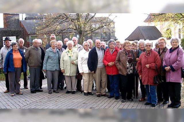 Senioren auf Wallfahrt