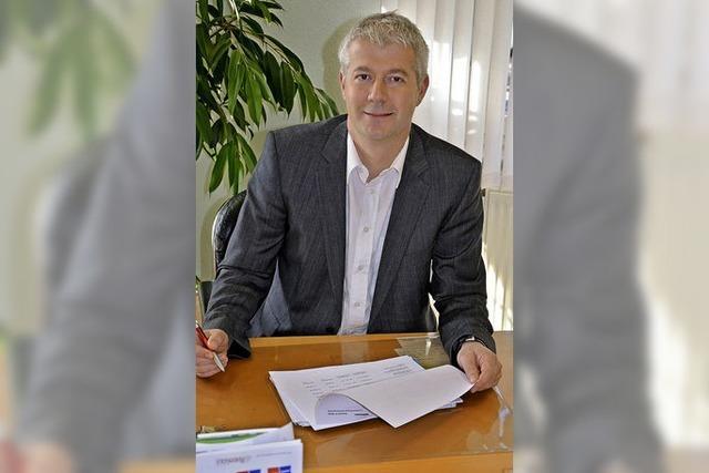 Bürgermeister Manfred Kreutz: