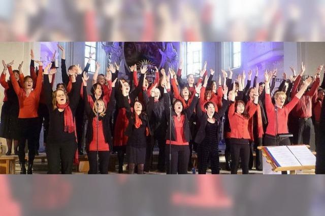 Chor feiert Jubiläen und Abschied