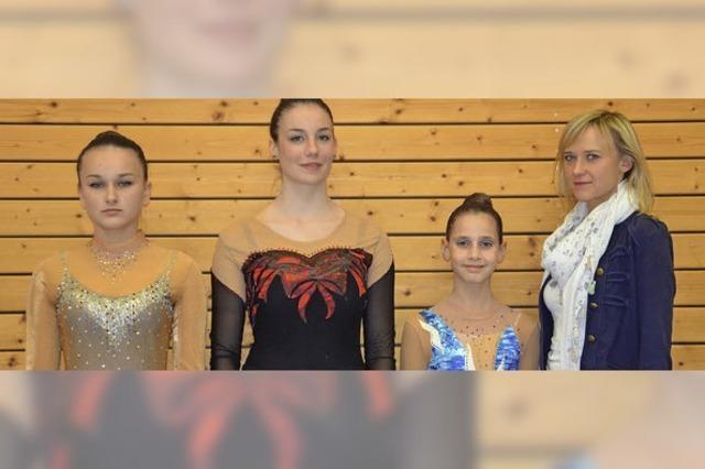 Gymnastinnen waren kurz vorm Siegerpodest