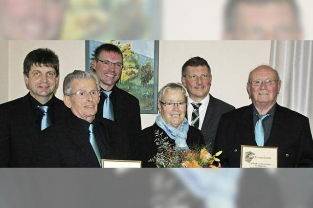 Simonswälderin Marie-Luise Ruth ist seit 60 Jahren Chorsängerin