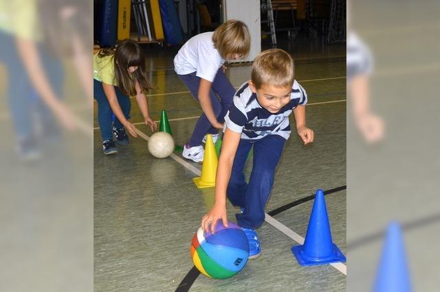 Spaß am Spiel mit Ball vermitteln