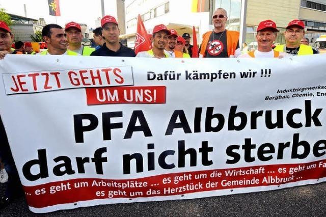 Im Konflikt um Betriebsrenten bei der Papierfabrik Albbruck erzielen Rentner eine Einigung
