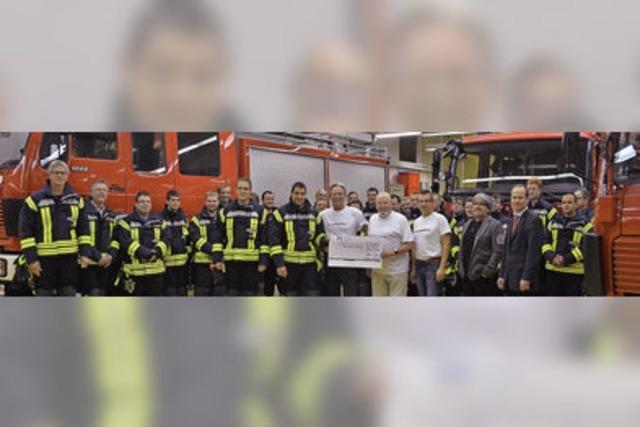 Feste gefeiert für die Feuerwehr
