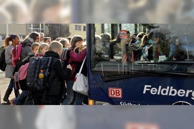 Richtiges Busfahren will gelernt sein
