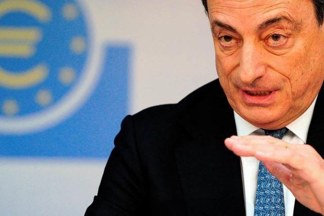 EZB senkt Leitzins: Draghi löst in Deutschland Unmut aus