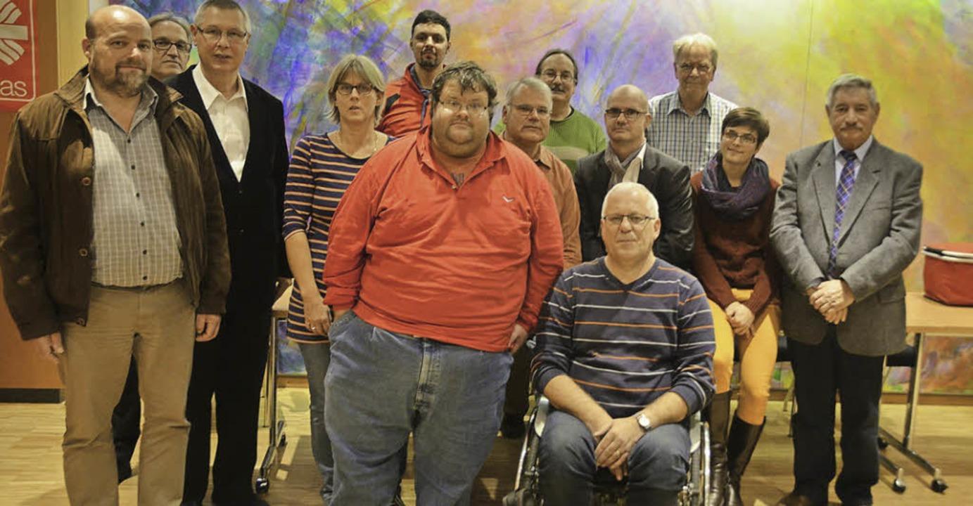 Der neu gewählte Behindertenbeirat im Landkreis    | Foto: Anja Bochtler